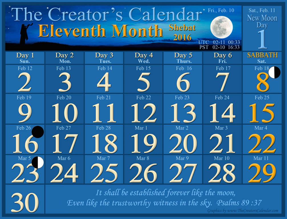 eleventh lunar month 2016-2017