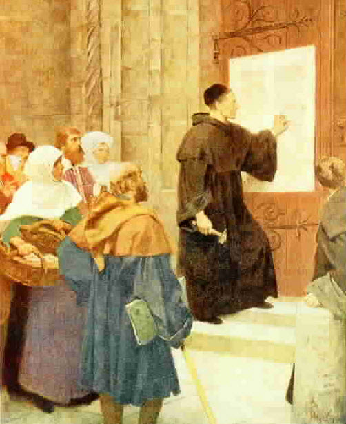 luther+95 thesis Summarize the issues that divided martin luther from the catholic church and how did luther'ss theological teachings redefine fundamental thinking about vital western concers.