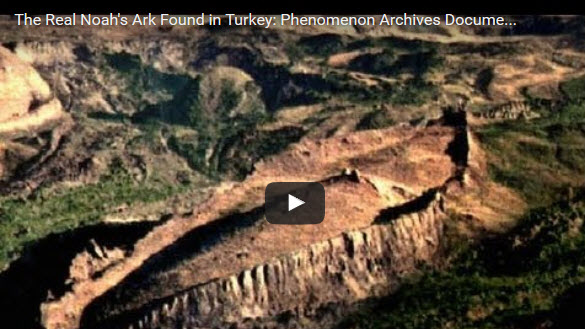 The Real Noah S Ark Found In Turkey Video The Creators